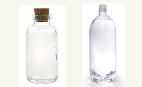 Purify Water With Sunlight (Glass or Plastic?)
