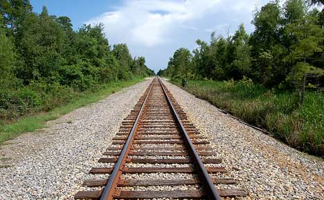 Post SHTF; Walking Along Railroad Tracks