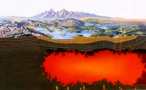Yellowstone Super Volcano Much Larger Than Thought