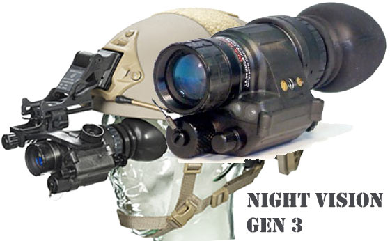 Night Vision Device | Gen 0  to Gen 3+ | How It Works