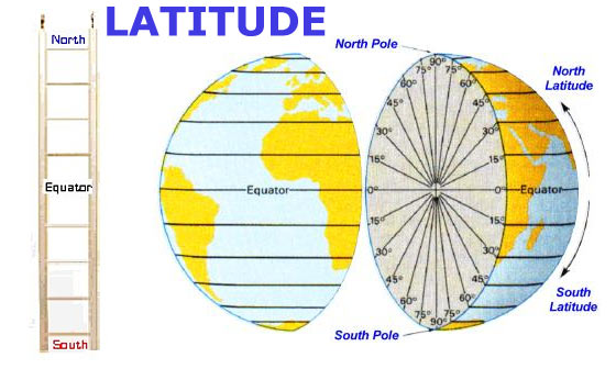 Basic Map Reading Latitude Longitude - Map of the us with longitude and latitude
