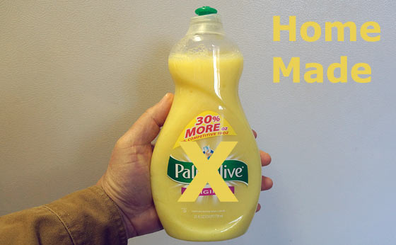 How To Make Your Own Dish Soap