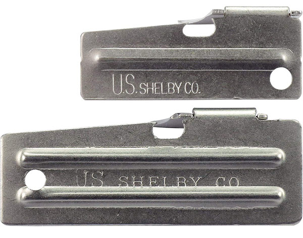 P-38 and P-51 can opener made by U.S. Shelby