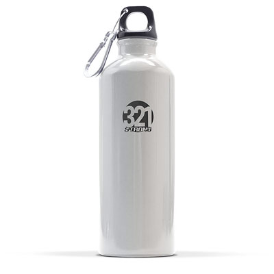 Popular aluminum light weight water bottle for hiking