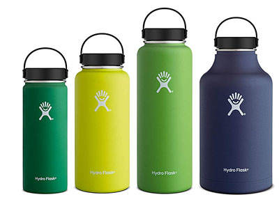 The most popular stainless steel water bottles