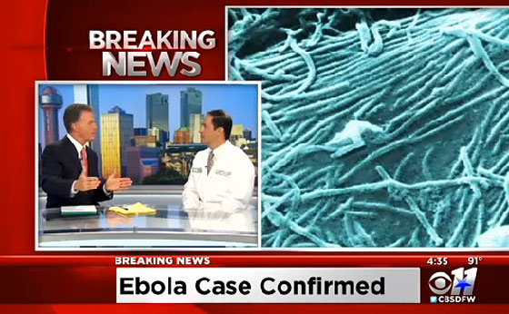 Ebola Is Now In The USA, But, You Have Nothing To Fear