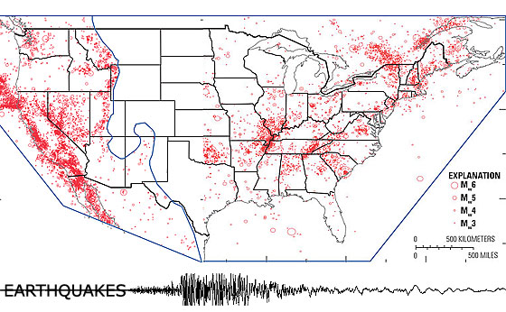 New Earthquake Hazards Maps Expand Seismic Risks Into Eastern United States