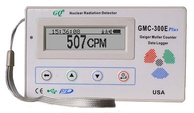 GMC 300E Plus radiation detector geiger counter