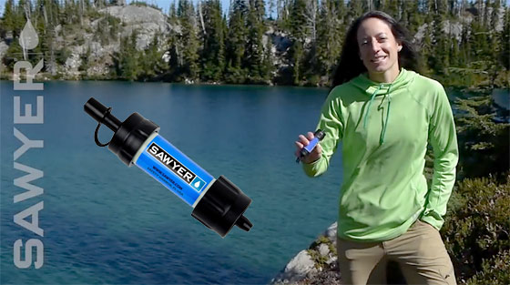 The Sawyer Mini Water Filter