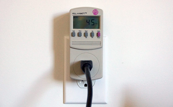 Kilowatt Usage Meter : How to measure energy kwh of a single device with