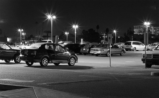 Situational Awareness Tip For Nighttime Parking Lot