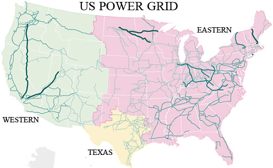 Power Plants in the United States – Gas, Coal, Nuclear, Hydro, Wind