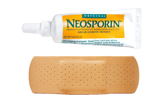 neosporin-and-band-aid