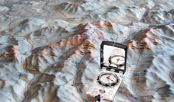 A Good Compass For Map Reading And Navigation