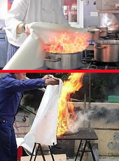 how-to-put-out-grease-fire-with-blanket