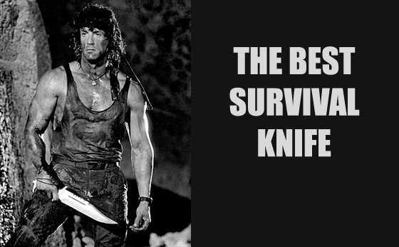 If You Could Only Have One Knife, What's The Best Survival Knife?