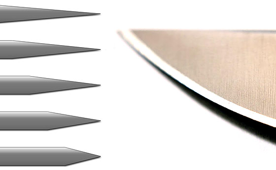 Knife Sharpening Angle – List of Bevel Angles – How to Sharpen