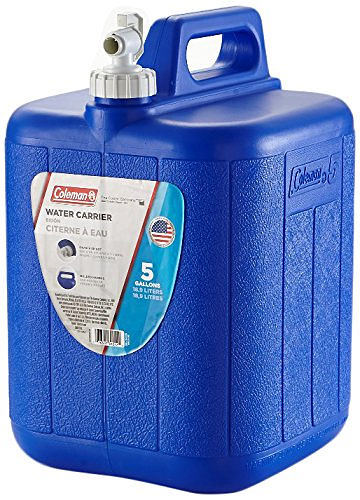 Coleman water container, 5 gallons with spigot