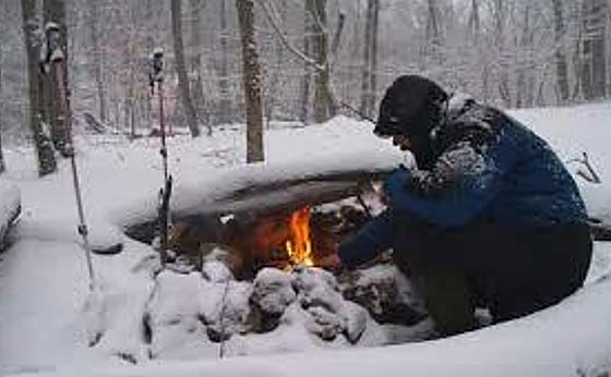 Can You Build A Fire In The Cold, Rain, Or Snow, Without Help?