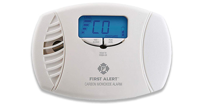 carbon monoxide poisoning & detector