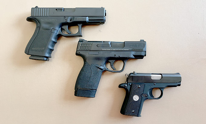 Your Everyday Carry Handgun Choices, and Why