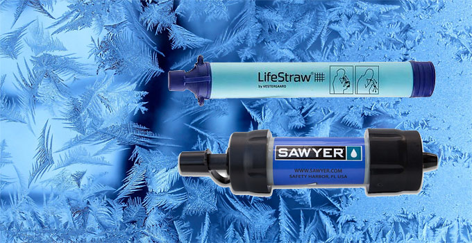 What If My Water Filter Freezes, Will It Be Damaged?