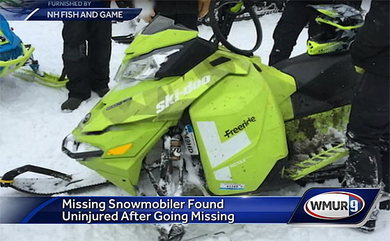 Lessons Learned From Missing Snowmobiler Found Alive