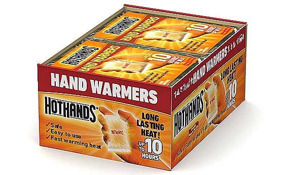 Hand Warmers For My Winter Survival Kit