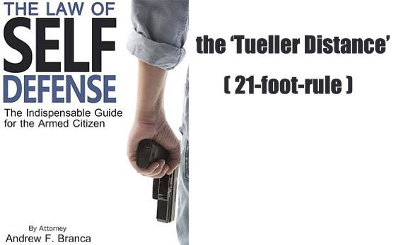 21 Foot Rule – Tueller Distance Legal Strategy for a Self Defense Shooting