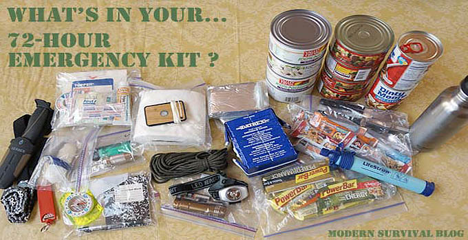 72 hour emergency kit