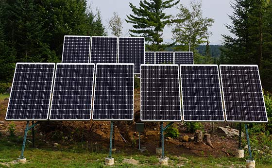 A Solar Energy System That Works At Night