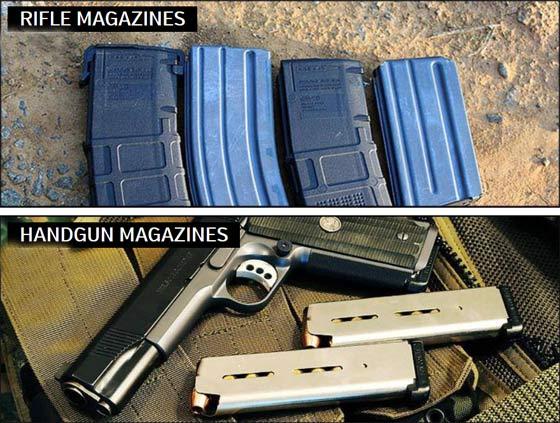 How many magazines per gun