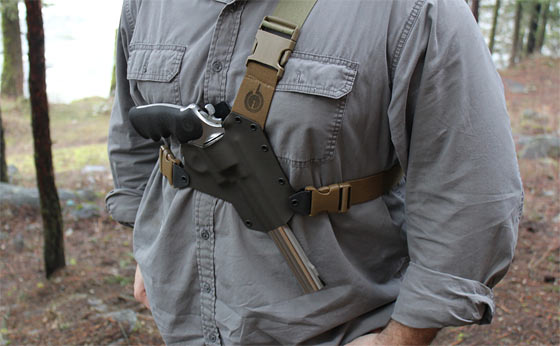 The Benefits Of A Chest Holster For Firearms Carry Outdoors
