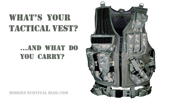 Tactical Vest For The Prepper