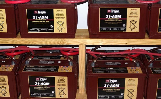 The Advantages Of AGM Sealed Batteries For Your RV Or Off-Grid