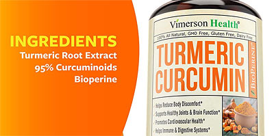 strongest Antioxidant turmeric and curcumin supplement