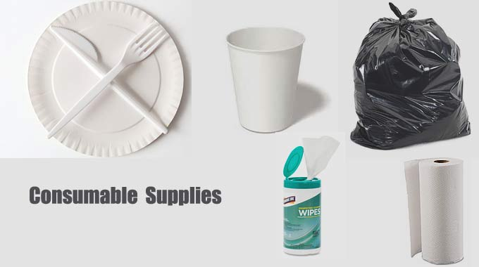 Consumable Supplies (Level 1 Preparedness)