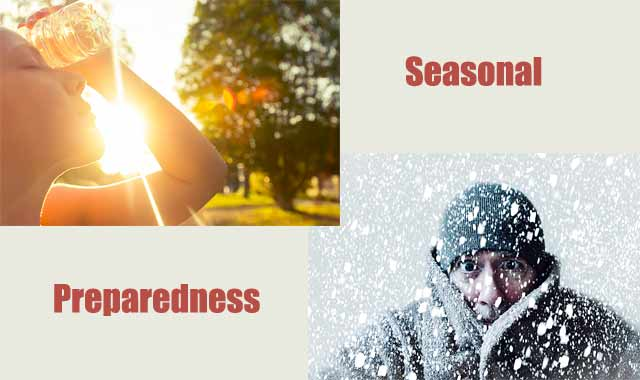 Seasonal Considerations (Level 1 Preparedness)