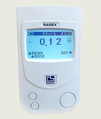 RADEX RD 1503+ Radiation Detector