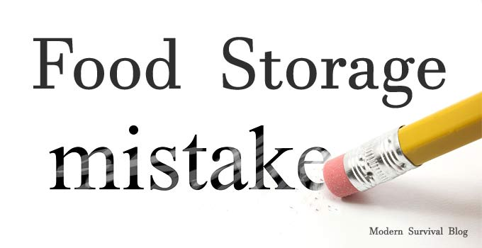 Food Storage Mistakes