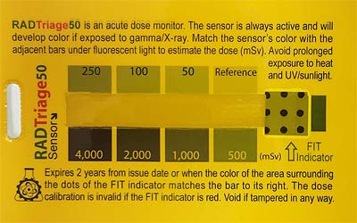 Radiation Dose Monitor