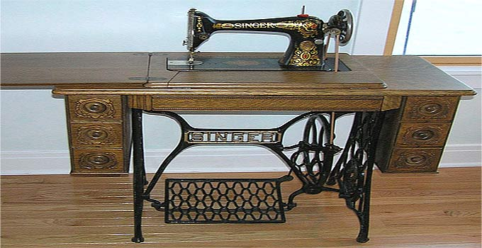 Treadle Sewing Machine for Preparedness