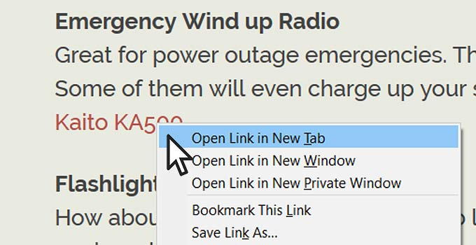 Should a link open in a new or same browser tab