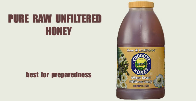 Raw Pure Unfiltered Honey