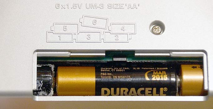 Duracell Battery Corrosion