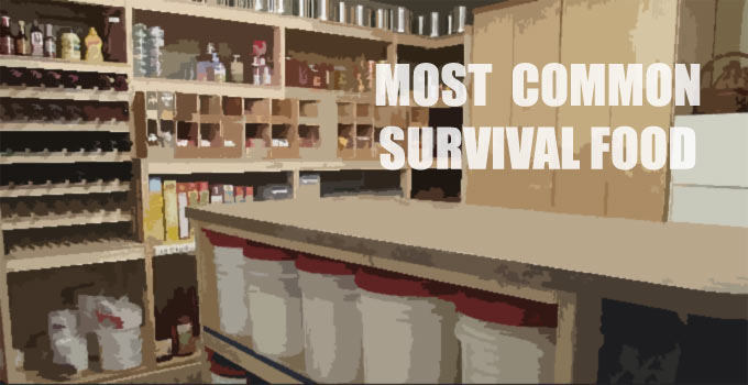 Survival Food Most Common In Preppers Deep Pantry Storage