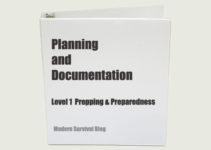 Preparedness Binder