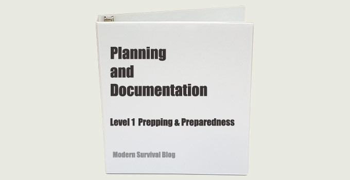 Planning & Documentation (Level 1 Preparedness)