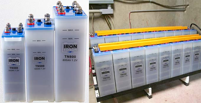 Nickel Iron Battery Off Grid Energy Storage | Last One You'll Ever Need