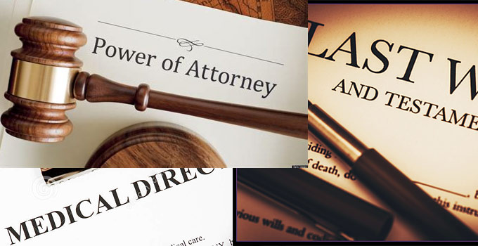 Last Will, Power of Attorney, Medical Directive